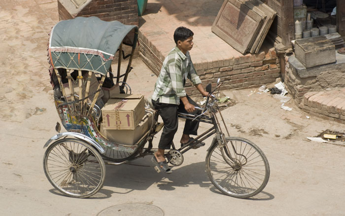 Patan - Cycle riksha